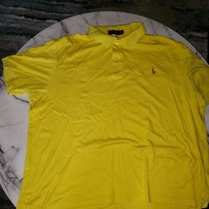 Polo Ralph Lauren Yello 2XB Pima Soft Touch
